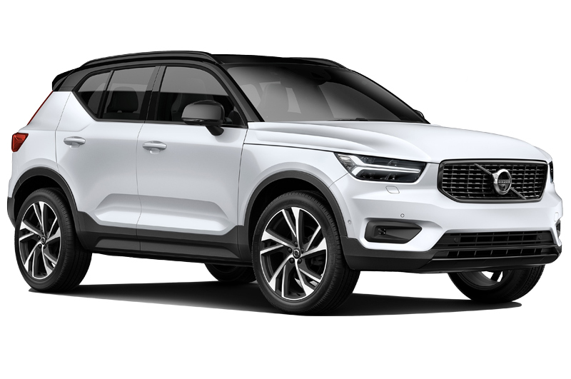 Volvo xc40 front angle